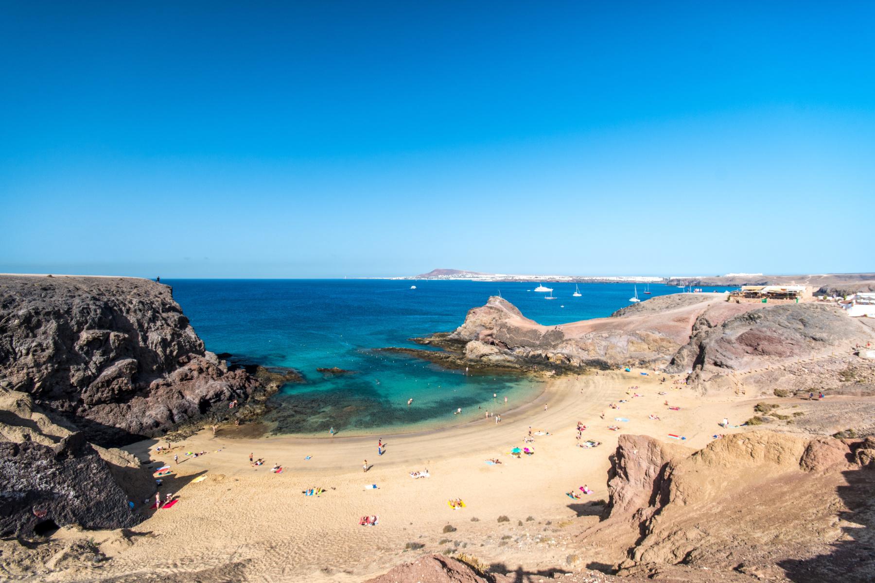 Lanzarote arrieta nude beach