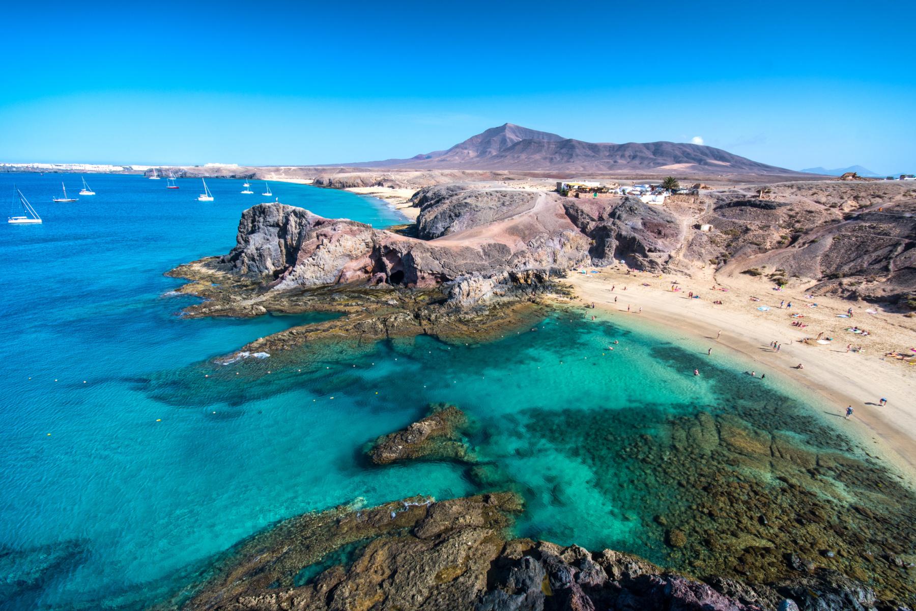 Playas de Papagayo - Turismo Lanzarote