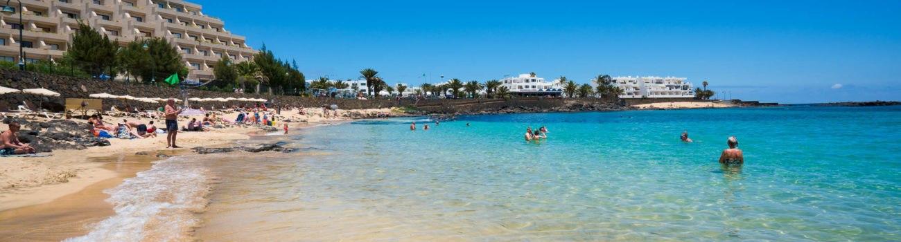 Orillera en la Playa del Jablillo - Costa Teguise.