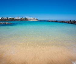 Entrando al agua - Playa del Jablillo, Costa Teguise.