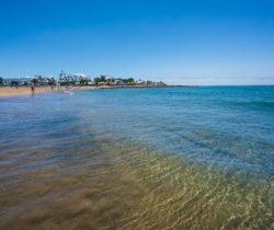 Resaca (de ola) en la Playa de Los Pocillos - Matagorda, Tías.