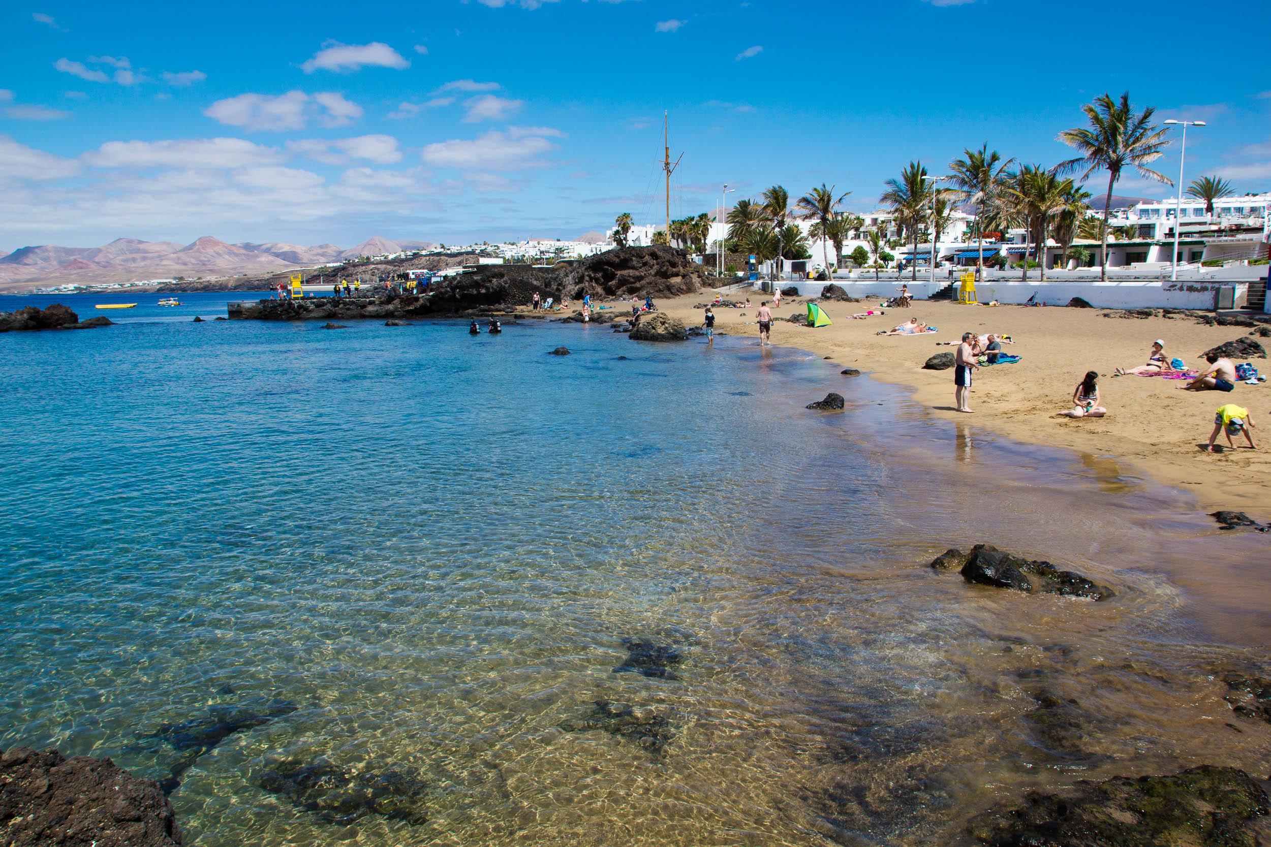 Playa Chica Chica Beach Turismo Lanzarote