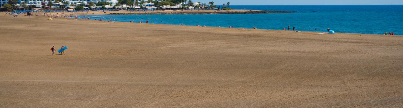 """""""Vamos a la playa..."""" - Playa de Los Pocillos, Matagorda, Tías."""
