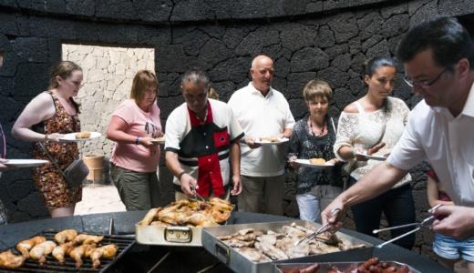 Restaurante El Diablo - Montañas del fuego