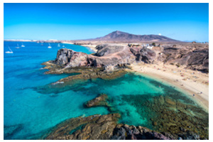 Lanzarote, the shores of an unfathomable universe