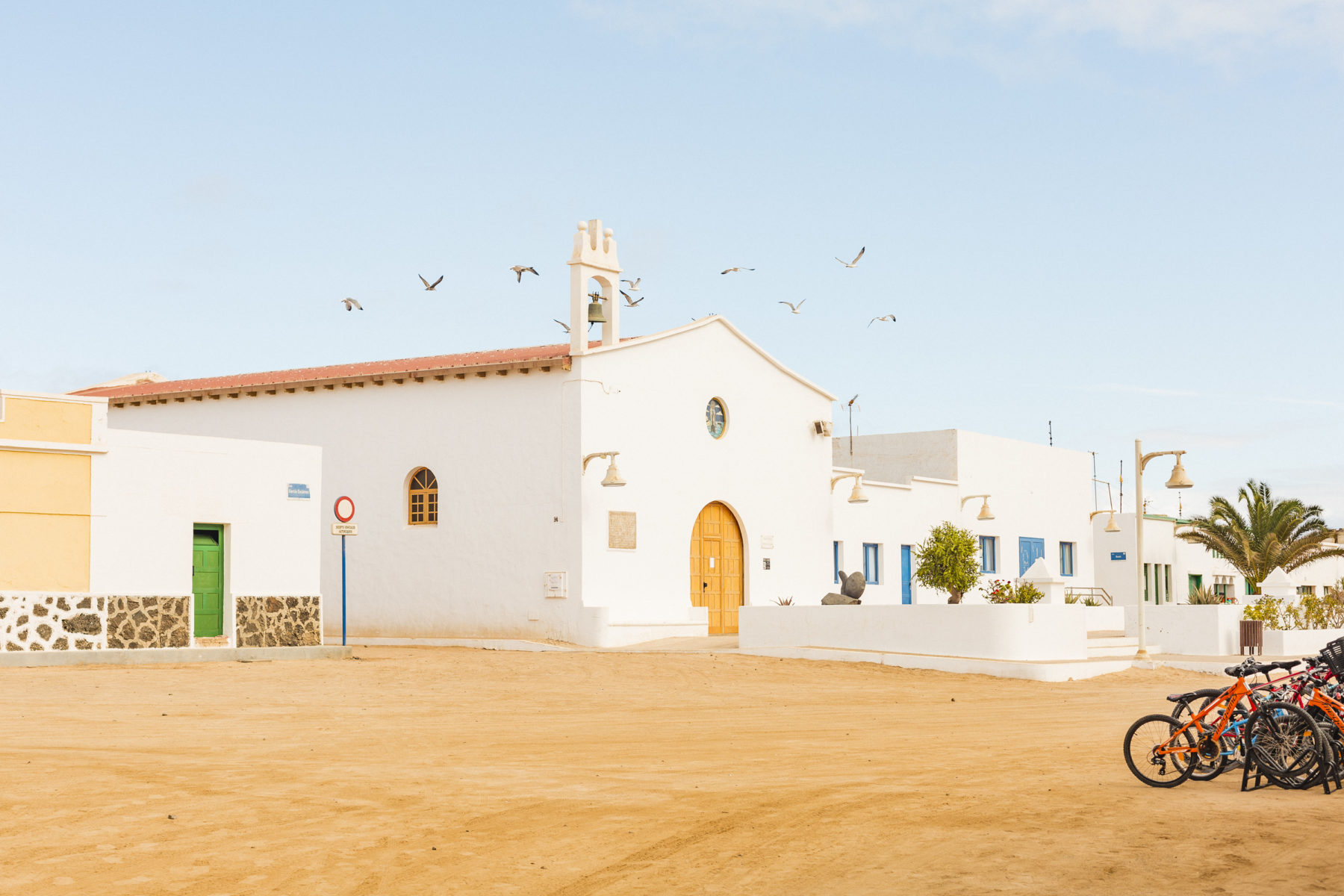 Iglesia de La Graciosa_Turismo_Lanzarote
