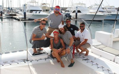 Crew-on-nets-in-Calero-as-pirates-2019