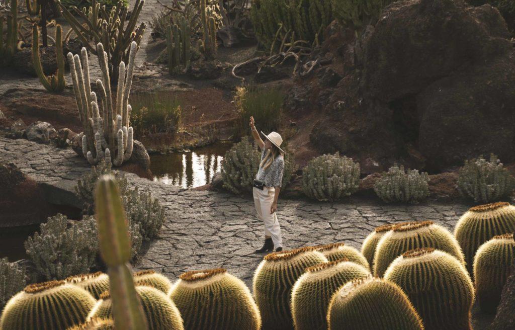 Giardino dei cactus di Lanzarote