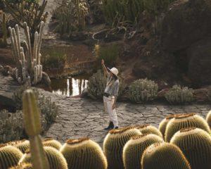 Lanzarote jardín de cactus