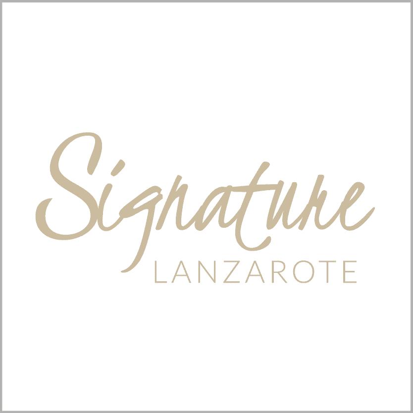 Logo Signature Lanzarote - Turismo Lanzarote