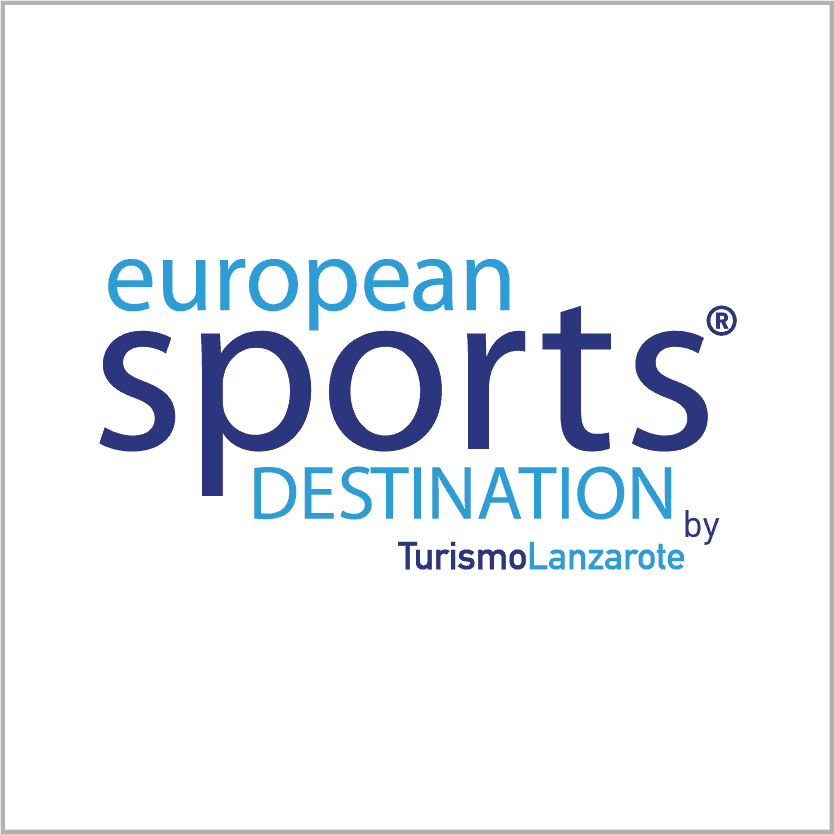 logo european sports destination - Turismo Lanzarote