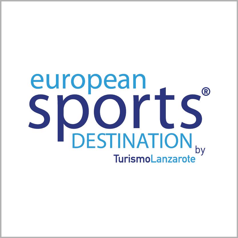 logo european sports destination - Turismo Lanzarote