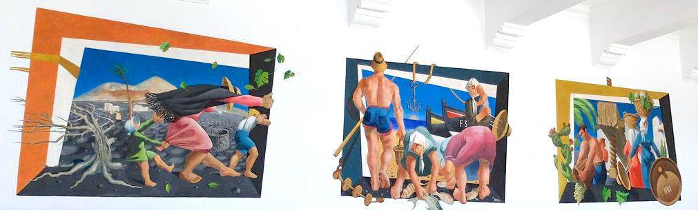 Alegoría de una isla - César Manrique UNED - Turismo Lanzarote