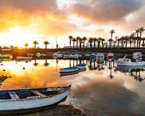 Amanecer en El Charco - Turismo Lanzarote