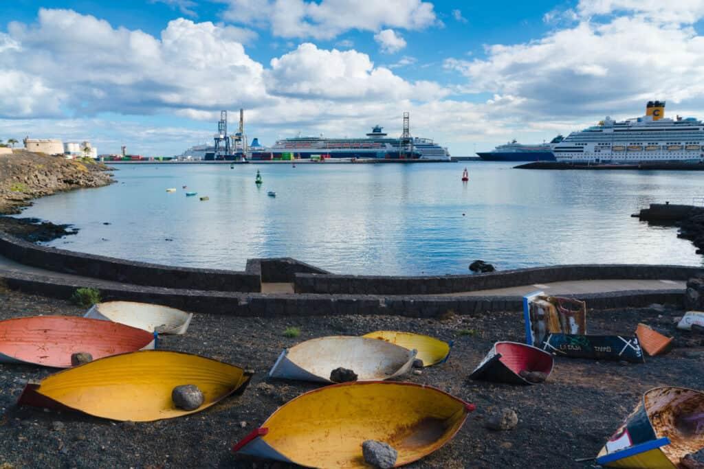 Jolateros - Puerto los Marmoles - Turismo Lanzarote